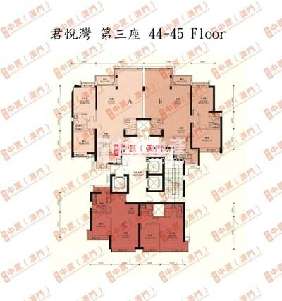 君悅灣-平面圖