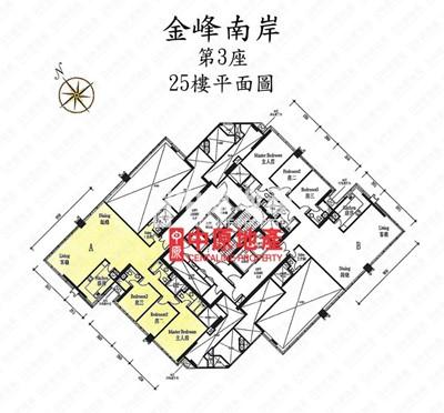 金峰南岸-平面圖