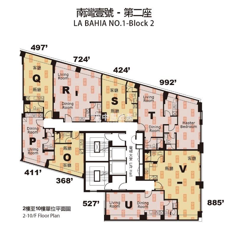 南灣壹號-平面圖