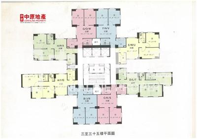 寶暉海景花園(寶發閣)-低層E室